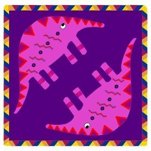 """Предпросмотр - Схема вышивки  """"Африканский узор """" - Схемы автора..."""