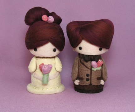 Валяные куколки от YuYuArt.