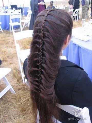 французские косы плетение по бокам.