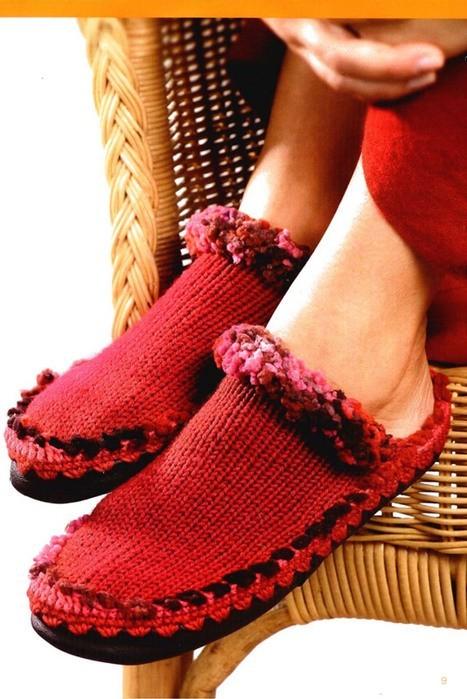 Вязание носков спицами - это очень полезное увлекательное.