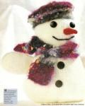 Это цитата сообщения.  Вязаный снеговик.  Прочитать целиком.