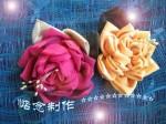 мастер класс цветы из ткани.mpg - YouTube.