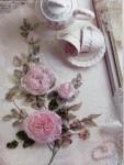 Ribbon embroidery вышивка лентами - королева рукоделия.