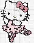"Hello Kitty - схемы вышивки крестиком  "" Womenn.net - портал для женщин."