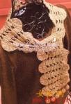 схемы вязание шарфов и палантинов спицами.