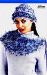вязание спицами шапки женские зимние. зимние шапки спицами. вязание.