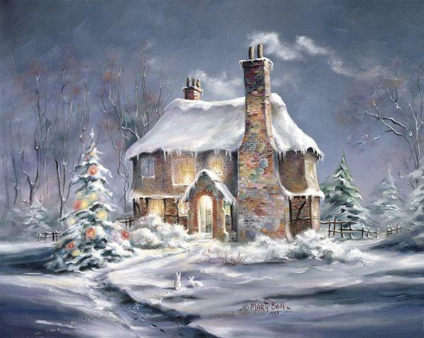 Зимние и Рождественские картинки.