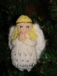 Игрушка Вязание спицами: Небьющиеся ёлочные игрушки.  Пряжа Новый год.