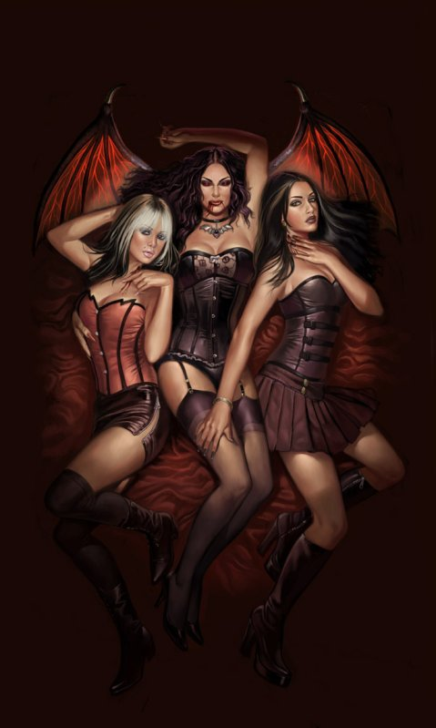 Сексуальные демонши