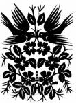 Поделка, изделие Вытынанка: шаблоны зимние вытынанки Бумага.  Фото.