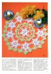 Вязание крючком цветов для беретов схемы. вязать шарфики детям.