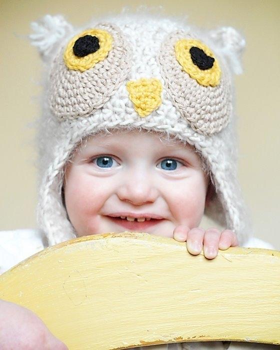 зимние вязаные шапки для девочки с описанием и схемами - Выкройки одежды...