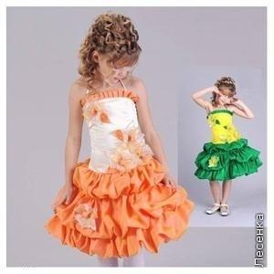 Детские платья - сшить самим быстро и просто.