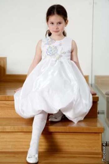 Как сшить нарядное платье для девочки самой.