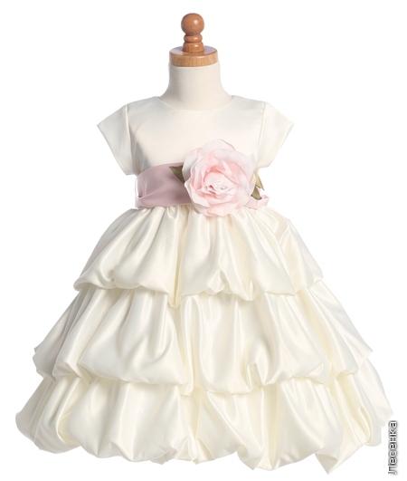 """Детское платье  """"Роза """" купить в интернет-магазине, цена."""