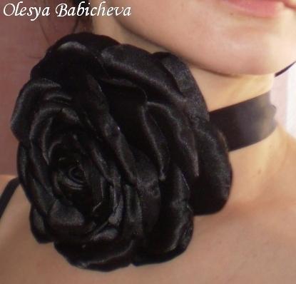 Розы из ткани - Твой джинсовый мир.