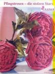 Вязаные крючком цветы, схема / Вязание. вязание крючком цветы схемы.