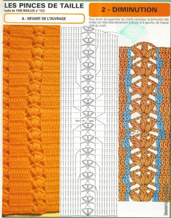 Вертикальная вытачка в вязании 15