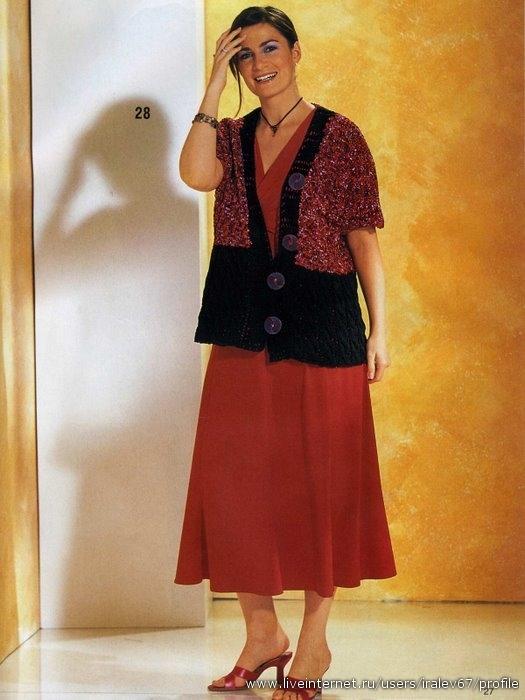 Описание: вяжем спицами для женщин кофты на.