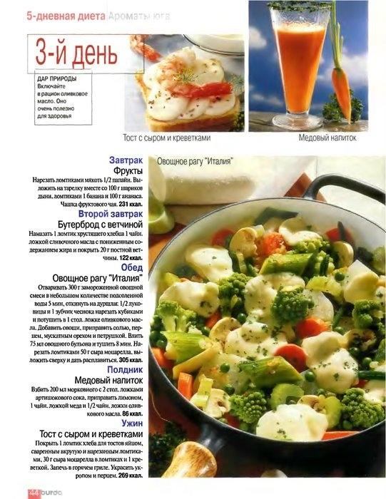 10 дневная диеты