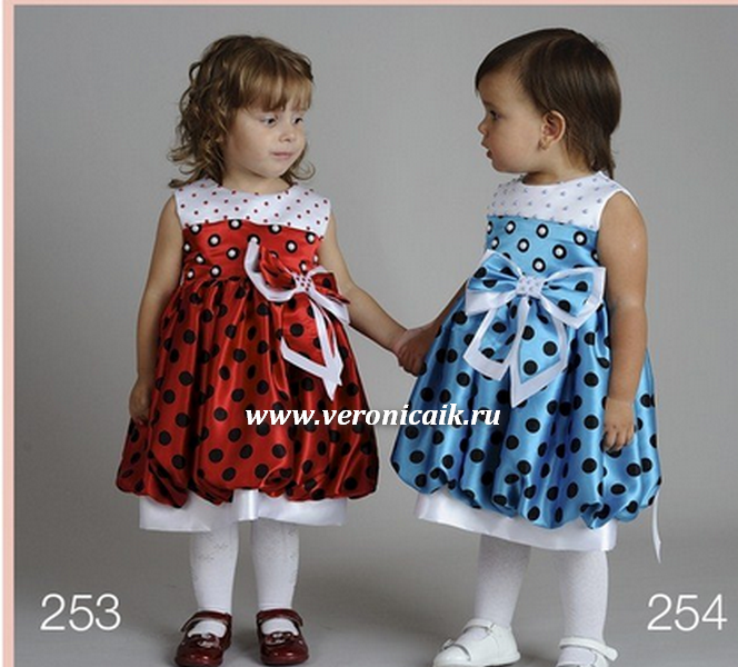 как сшить новогоднее платье для девочки выкройки.