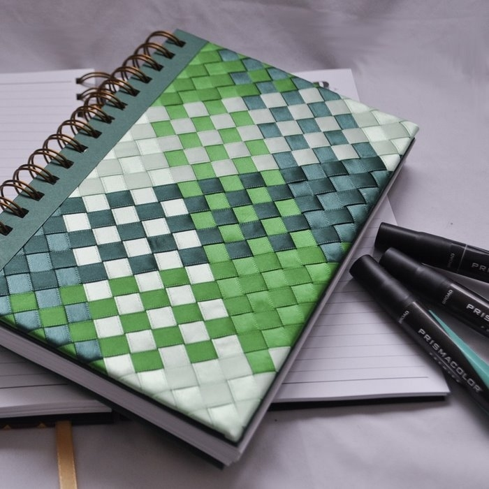 weaving and patchwork notebook, more craft ideas - crafts ...
