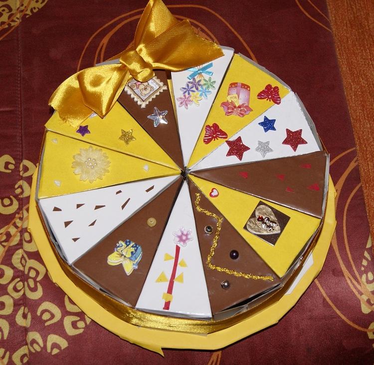 тот уже как сделать торт из бумаги с пожеланиями поражает небо или