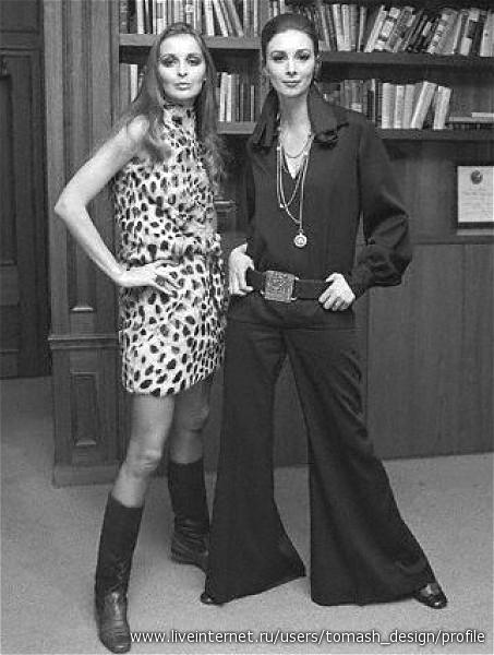 мода 70-х - Самое интересное в блогах