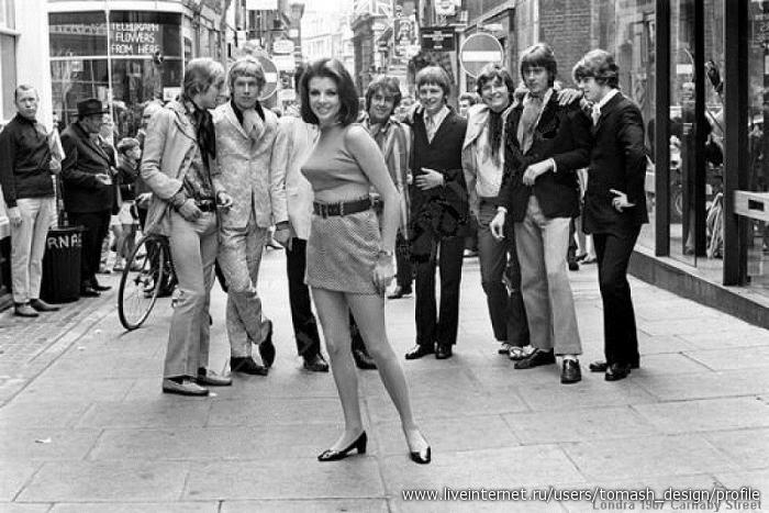 Из истории моды. 70-е годы.. Обсуждение на LiveInternet ...