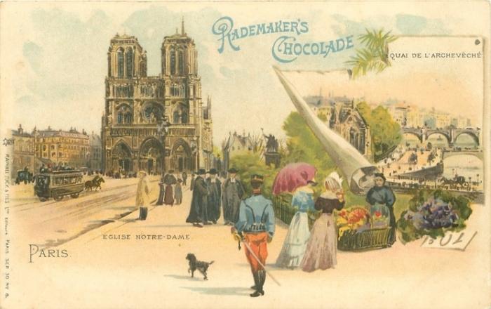 Старые открытки из парижа, надо