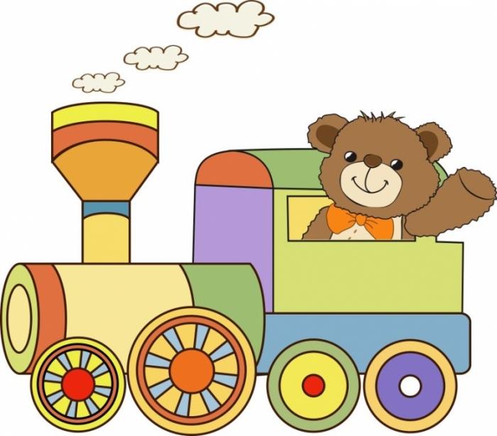 Друзьям, картинки паровоза детские