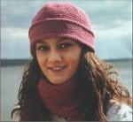 Шапочка крючком схема шапки.  Рхемы вязания шапок и шарфов.