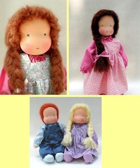 шить куклы, и шьем сами как наложить складки качельки.