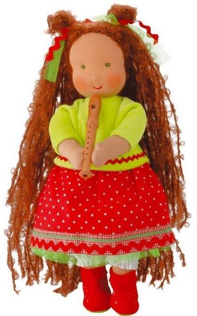 Шьем куклу своими руками.  Как сшить вальдорфскую куклу.