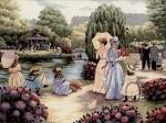 Сама я в детстве очень любила вышивать, помню как бабушка меня ещё учила...