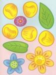 шаблоны цветов для аппликации. на основе более.