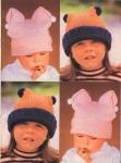 Вязание для детей бесплатно: детское платье с шапочкой.