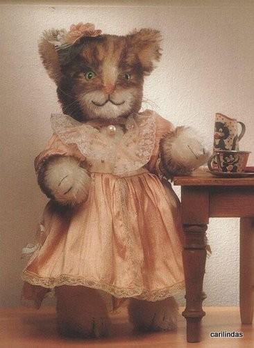 Красивые коты с выкройками.  Фотографии пользователя. description.