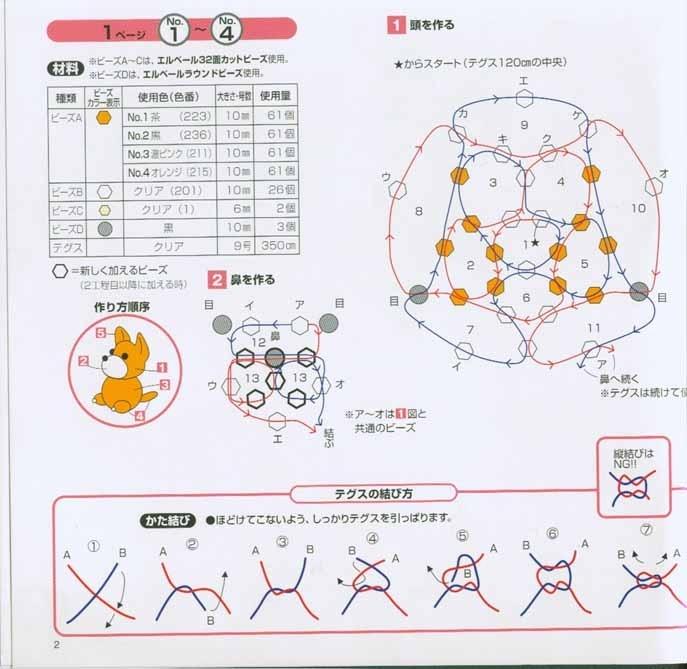 Брелки из бисера со знаками зодиака со схемой плетения в ... 3 авг 2006.