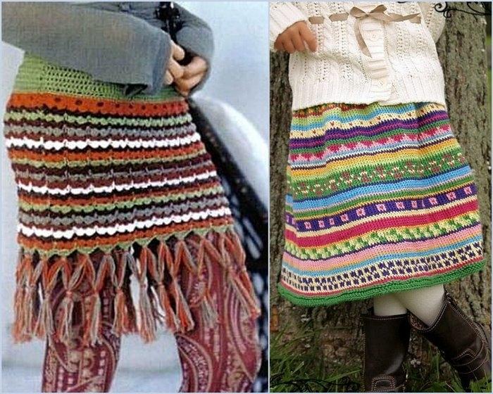 Метки: вязание для женщин, вязание спицами, юбка.