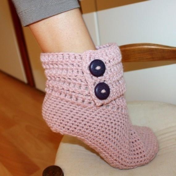 вязание носков крючком фото - Вязание, кофточки для женщин крючком.