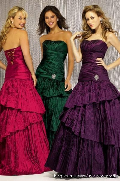 итальянские платья Вечерние платья.