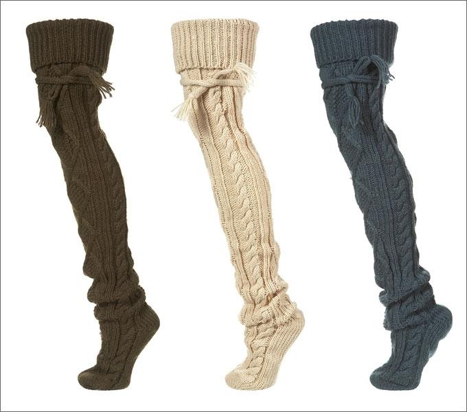 Гольфы - Крючок и спицы - Схемы вязания для женщин и детей.