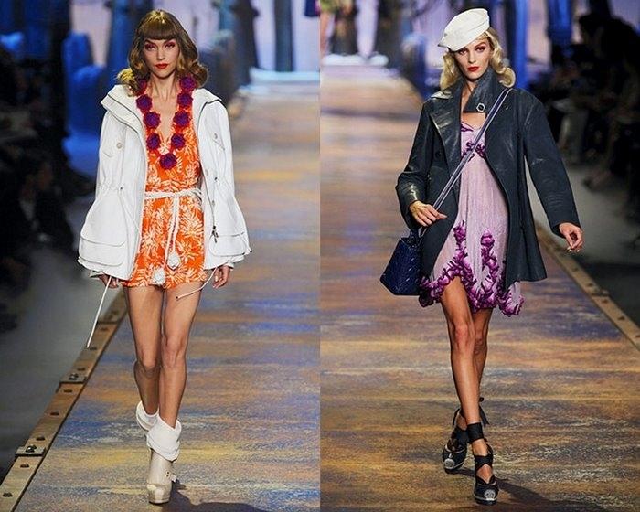Весенне-летняя коллекция: Christian Dior Spring 2011 RTW.